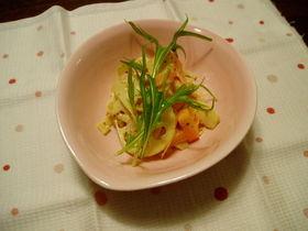 冬野菜サラダ☆
