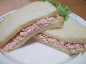 おさかなのソーセージ☆サンドイッチ