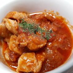 鶏肉のトマトケチャップ煮