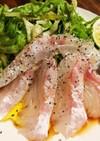 お店の味!鯛のカルパッチョ