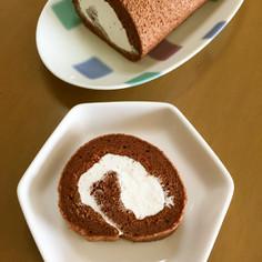 マスカルポーネロールケーキ