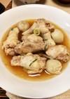 鶏手羽元と里芋のピリ辛煮♪