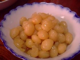 ★白いんげん豆の甘煮★