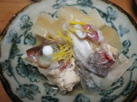 鯛と蕪のあっさり煮