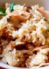 秋鮭とキノコの炊き込みご飯