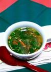 玉葱、人参、青菜の食べるスープ!