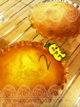 ゆず×はちみつ(*・Ⓐ・)楽ちんケーキ。