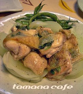 オーブンで一緒に♪ハーブ焼き鳥と蒸し野菜