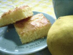 ざくざくレモンケーキ