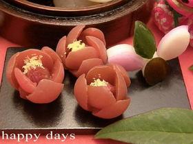 小梅で梅の花☆お正月☆お節のお飾りに♪