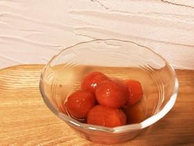 ミニトマトの紅茶みりんコンポート