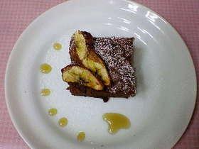 チョコチーズケーキ・オン・ザ・バナナ
