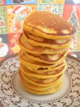 ほんのり和風☆ かぼちゃのパンケーキ