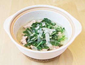 亀戸ダイコンと豚肉のさっぱり煮