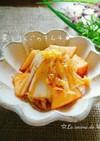 簡単ヒトサラ♪白菜とりんごのキムチ