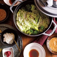 「蒸し」ミルフィーユ鍋
