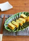 簡単アレンジ卵☆味噌風味のねぎ卵巻
