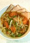 プチ薬膳♥紅茶豚の煮汁で作る汁ビーフン