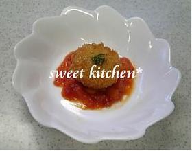 とろ~りチーズとトマトソース