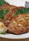 丸干しイワシと豆腐のハンバーグ