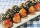 お弁当に☆のり巻き豚こまの照り焼き