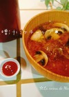 *味噌汁にケチャップ*