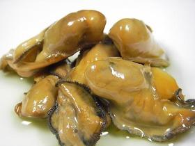 牡蠣のスモーク オイル漬け