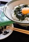 トロトロわかめの卵かけご飯