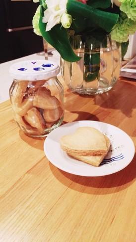 ビニール袋でザクザクバタークッキー