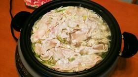ネギとモヤシの豚しゃぶ鍋