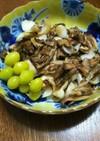 ユリ根と舞茸と銀杏のバター醤油炒め
