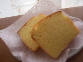 フンワリ♪しっとり♪チーズパウンドケーキ