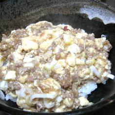 スタンダードな麻婆豆腐