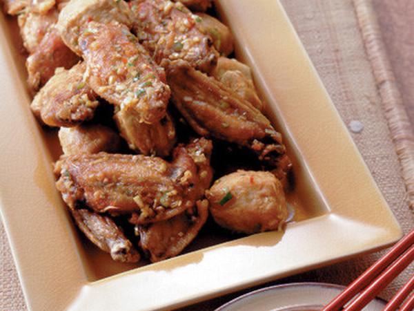 鶏手羽と里いものから揚げ