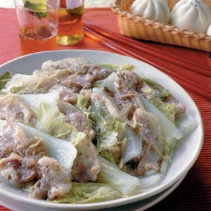 豚肉と白菜の重ね蒸し