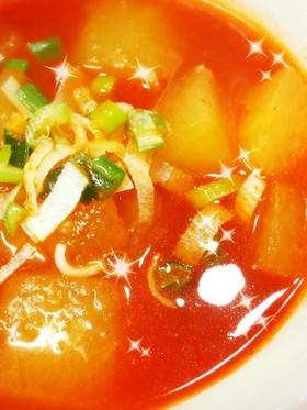 むくみ便秘対策に☆冬瓜のスンドゥブスープ