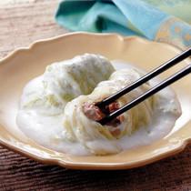 中華風ロール白菜のクリーム煮