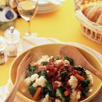 三色野菜のホットサラダ