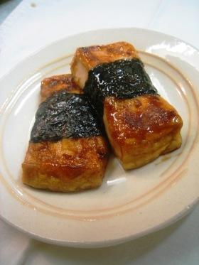 豆腐ステーキ いそべもち もどき