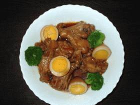 鶏肉の中華風煮込み
