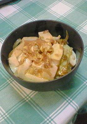 ヘルシー♫豆腐で親子丼風~♫
