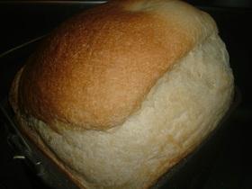 りんごシャーベットの煮汁で□食パン□