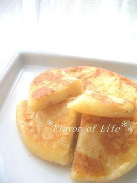 カリふわもっちり。■ポテトパンケーキ■