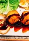 里芋の豚ロール巻きフライ♫