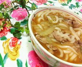 ✿お手軽❀白菜と豚肉の✿キムチうどん♪♪