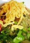 レタス&カニカマ♪春雨サラダ♪
