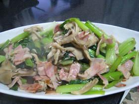 小松菜と舞茸の炒め物☆