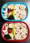 幼稚園(年少)双子のお弁当7