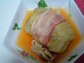 我が家のロール白菜