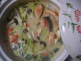 味噌シチュー鍋